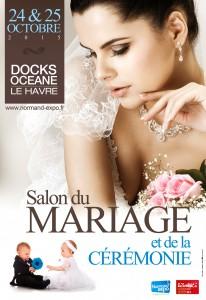 Affiche salon du Mariage Havre