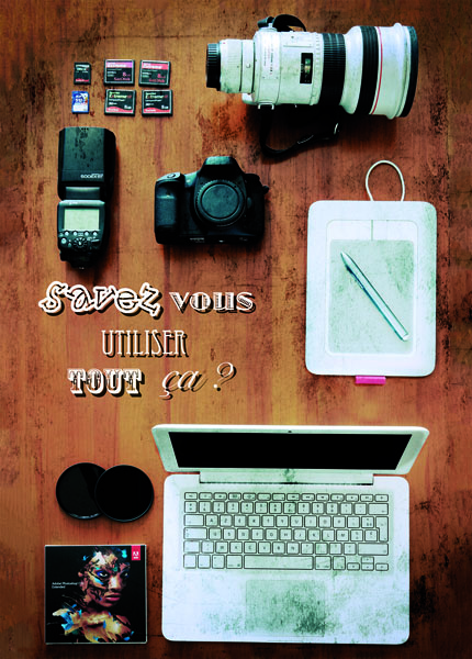 visuel pour le cours photo