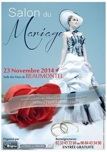 Affiche Salon Mariage Beaumontel