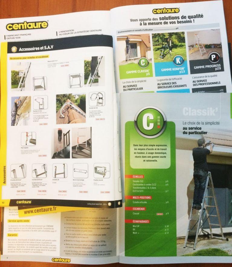 Catalogue Centaure Pro et Particuliers