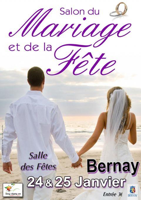 affiche mariage salon bernay 2015