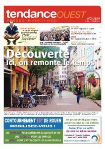 A l'occasion des Concerts de la Région de Haute Normandie, une petite photo s'est glissée dans la Une du Tendance Ouest Rouen du 7 juillet 2016