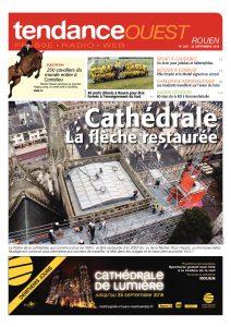 A l'occasion du 1er Happy Jump de Canteleu, une photo de Michel Hécart pour illustrer la Une du Tendance Ouest Rouen du 22 septembre 2016